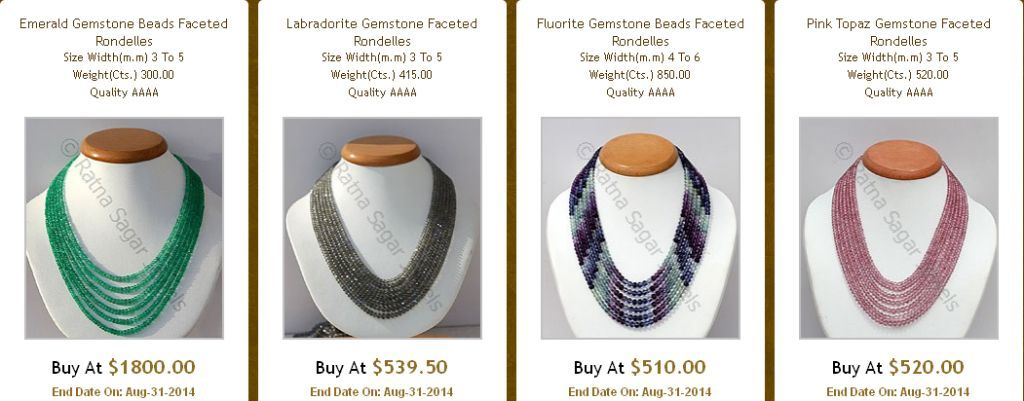 Style Statement- Beaded Necklaces