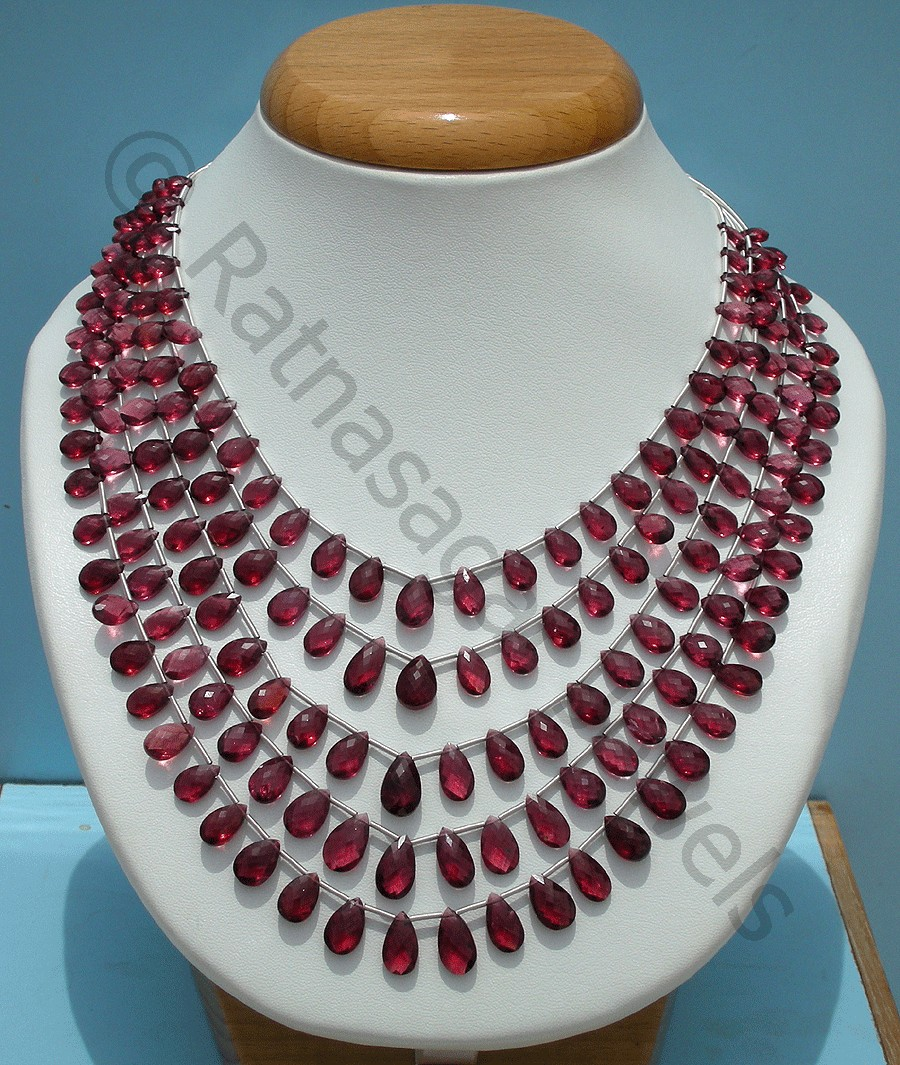 The Ongoing Sale on Rhodolite Garnet Gemstone Beads