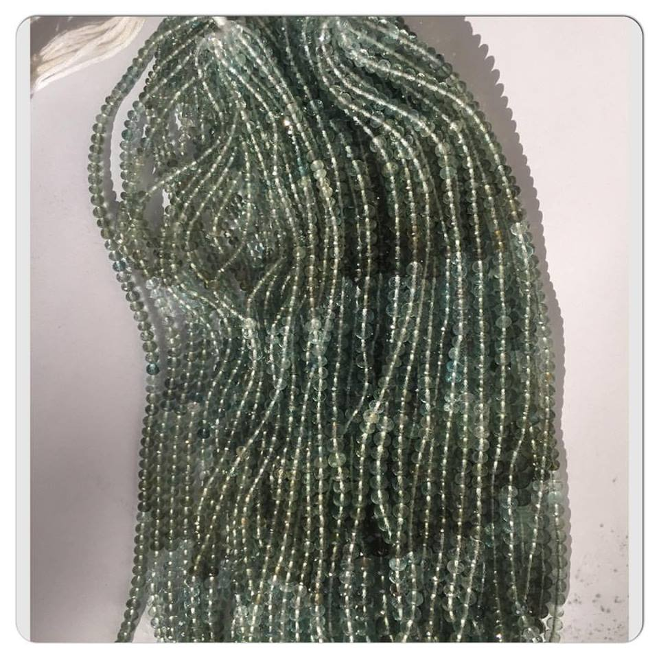 Aquamarine gemstones beads