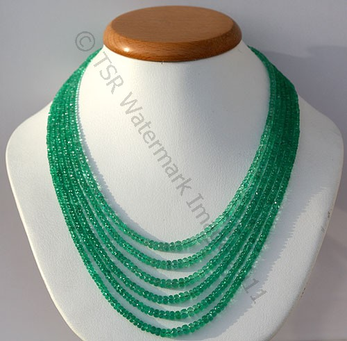 Emerald Gemstone Beads