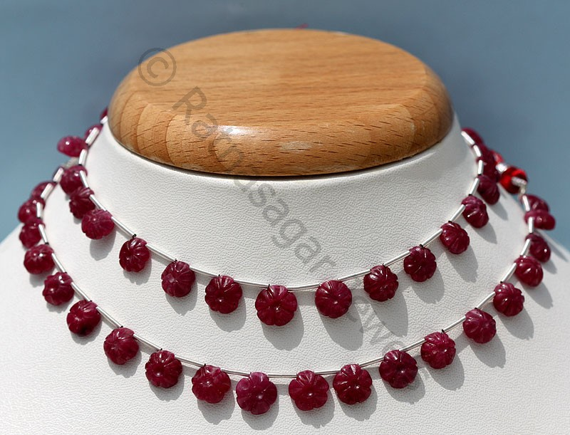 Ruby Gemstone Beads