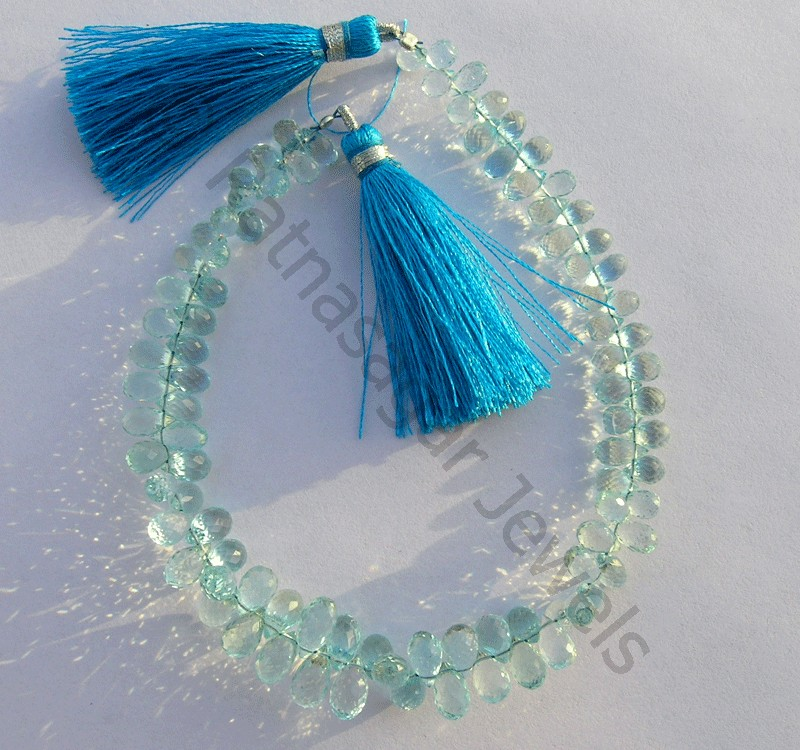 Blue Topaz Gemstone Beads