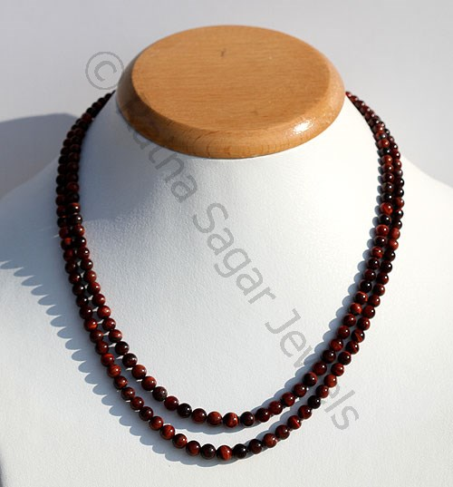 Tiger's eye gemstone beads