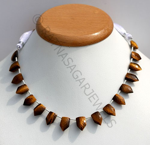 Tiger's eye gemstone