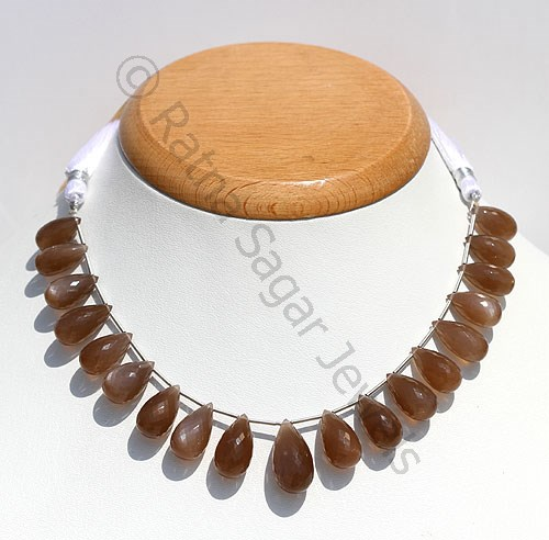 Coffee moonstone gemstones