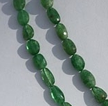 16 inch strand Tsavorite Gemstone Faceted Nuggets Beads