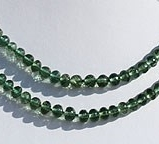 wholesale Green Apatite Faceted Rondelle