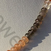 aaa Peach Moonstone  Plain Beads