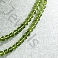 wholesale Peridot Gemstone Beads  Faceted Rounds