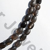 aaa Black Moonstone Faceted Oval