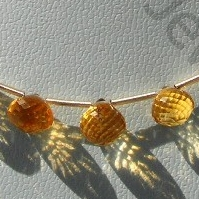 aaa Citrine Gemstone  Onion Shape