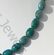 aaa Chrysocolla Plain Oval Beads