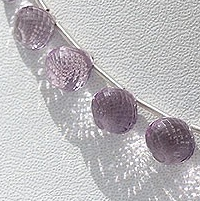 wholesale Pink Amethyst  Onion Shape