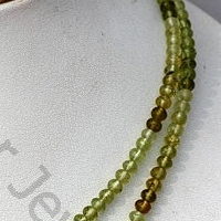 wholesale Grossular Garnet  Faceted Rondelles