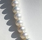 16 inch strand Pearl  Plane Round
