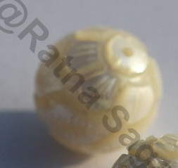 1 inch strand South Sea Pearl Half Drilled Gemstone