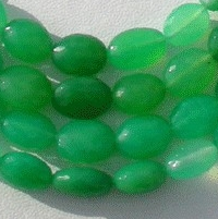 wholesale Chrysoprase Gemstone  Oval Faceted
