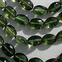 aaa Green Apatite Gemstone Oval Faceted