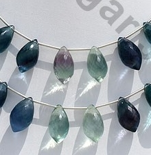 wholesale Fluorite Gemstone Chandelier Briolette