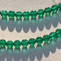 wholesale Green Onyx  Faceted Rounds