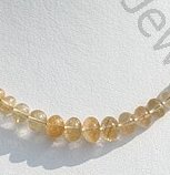 wholesale Golden Rutilated Quartz Plain beads