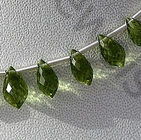 wholesale Peridot Gemstone Beads  Chandelier Briolette