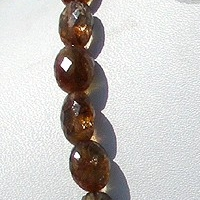 16 inch strand Andalusite Gemstone  Faceted Nuggets