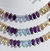 wholesale Semi Precious Multi  Marquise