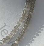 aaa Grey Moonstone Plain Beads