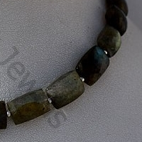 wholesale Labradorite Gemstone  Faceted Rectangles