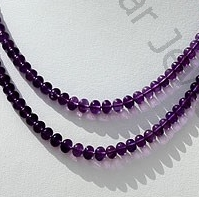 wholesale Amethyst Gemstone Plain beads