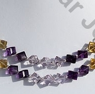wholesale Semi Precious Gemstone Faceted Cube
