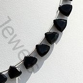 aaa Black Spinel Trilliant Cut Beads