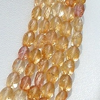 aaa Imperial Topaz  Oval Faceted