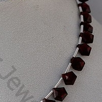 wholesale Garnet Gemstone Polygon Diamond Cut