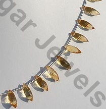 aaa Citrine Gemstone  Dew Drops