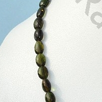 16 inch strand Tourmaline Gemstone Beads  Oval Faceted