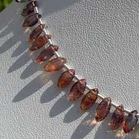 8 inch strand Andalusite Gemstone  Marquise