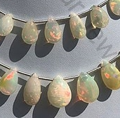 wholesale Ethiopian Opal Flat Pear