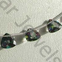 wholesale Mystic Topaz Beads  Trilliant