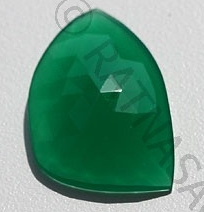 wholesale Green Onyx Rose Cut Slice