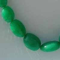 16 inch strand Chrysoprase Gemstone Faceted Nuggets
