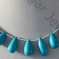 wholesale Turquoise Gemstone Tear Drops Briolette