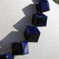 wholesale Lapis Gemstone Faceted Cube