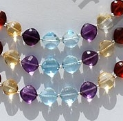 wholesale Semi Precious Gemstone Multi Puffed Diamond