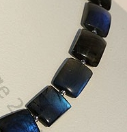 aaa Labradorite Blue Power Fancy Beads