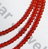 aaa Carnelian Gemstone Plain Beads