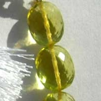 aaa Lemon Quartz  Oval Faceted