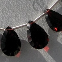 wholesale Garnet Gemstone Concave Cut Pan