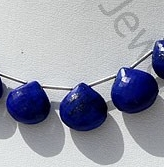 wholesale Lapis Gemstone  Heart Briolette